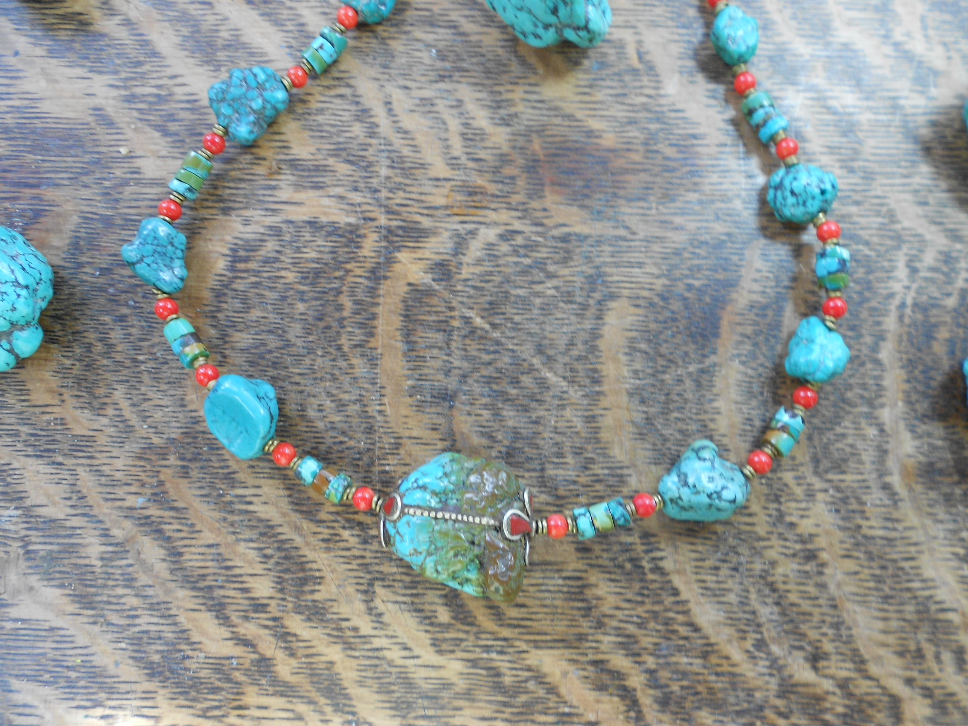 tibetan inspired necklaces 010