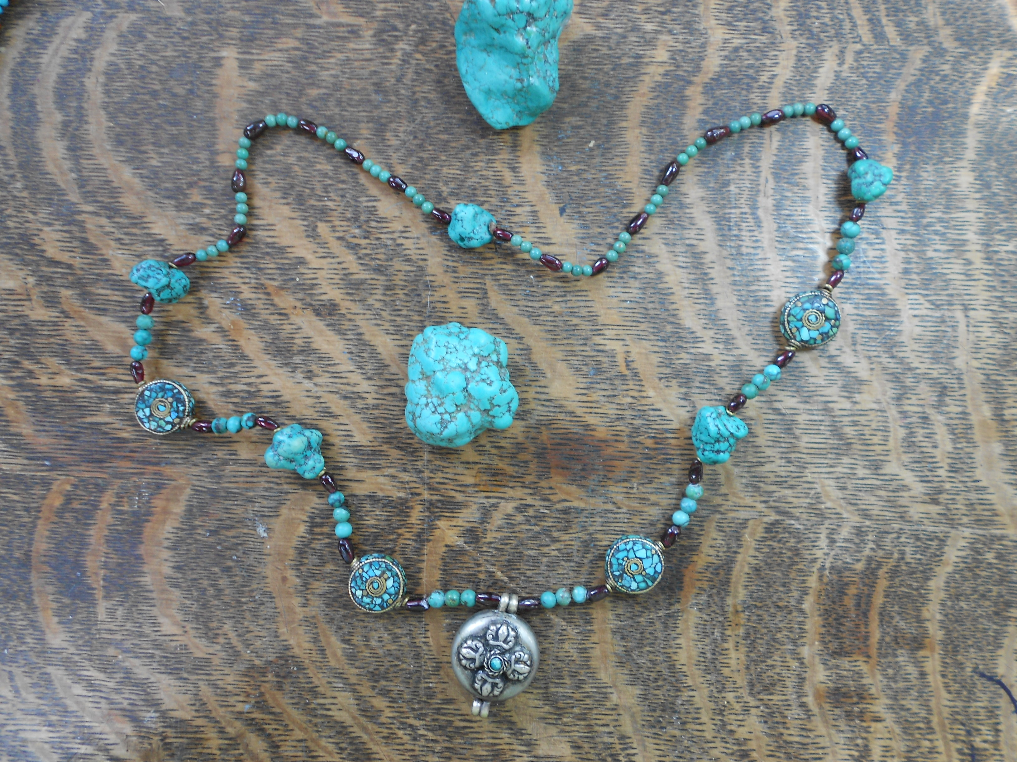 tibetan inspired necklaces 016